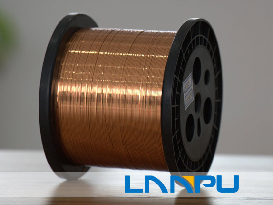 Ultra Fine Self-Bonding Rectangular Enameled Copper Wire